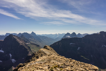 Wall Mural - Summit of Mt. Helen, Glacier National Park, Montana