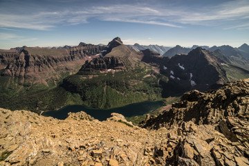 Summit of Mt. Helen, Glacier National Park, Montana
