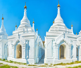 The sacred place in Mandalay, Myanmar