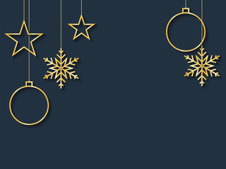 Happy new year and Merry Christmas background with stars,christm