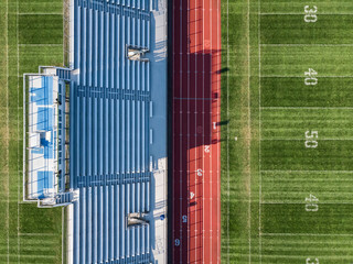 Stadium aerial views