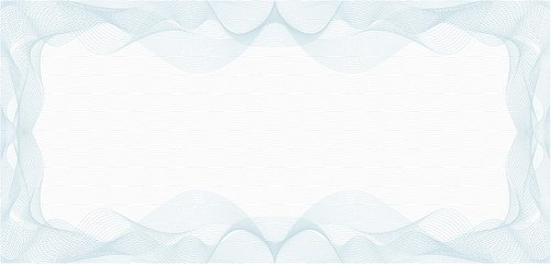 Background for Voucher, Gift Certificate, Coupon or Banknote