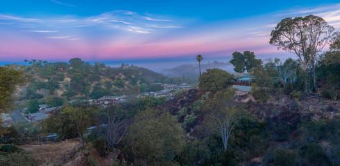 Morning sky San Diego