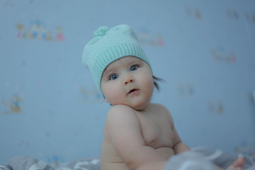 Baby model.