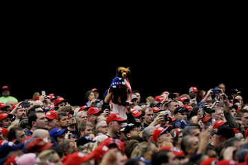 U.S. President Trump holds campaign rally in Cleveland, Ohio