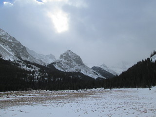 Wall Mural - Snow covered Colorado Rocky Mountains in Winter