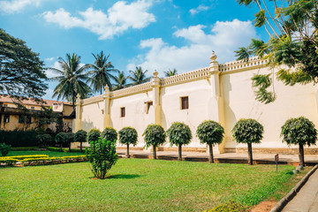Tipu Sultan's Summer Palace in Bangalore, India
