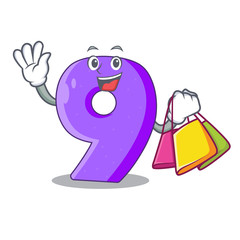 Shopping number nine athletics the shaped character