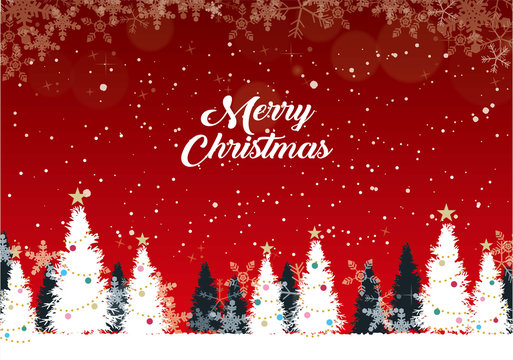 クリスマス・新年の背景素材