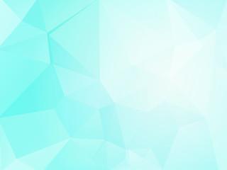 ice geometric mosaic background