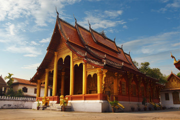 Vat sensoukharam at Luang Prabang ,Laos