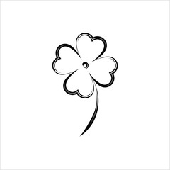 Clover With Four And Three Leaves