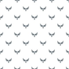 Winner wing pattern vector seamless repeat for any web design