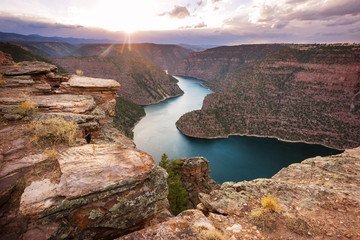 Poster Cappuccino Flaming gorge