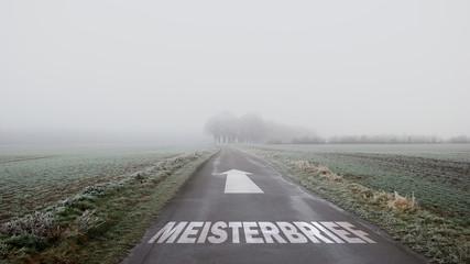 Schild 402 - Meisterbrief