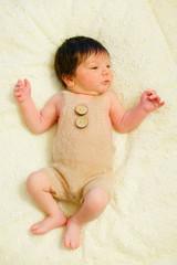 A newborn infant