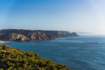 Imposante Küstenlandschaft in Südeuropa