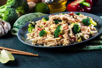 Pad Thai with chicken