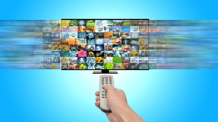 Smart TV and Internet streaming multimedia entertainment