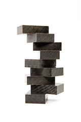 yukarı dizilmiş gri bloklar