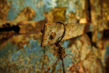 Background with rust, metal corrosion