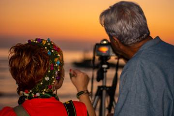 sunset at the Karina,soke,Aydin,Turkey