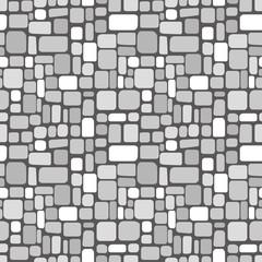 Random shapes background. Seamless pattern.Vector. ランダムな形のパターン