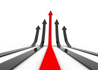 arrow leader concept