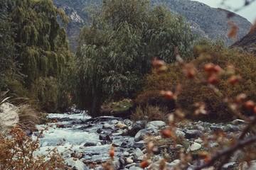 River in Mendoza, Argentina