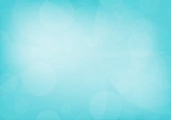 Abstract blue curve shapes background