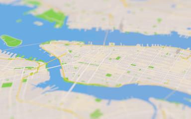 city map 3D