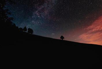 Mystic Night in the Alps
