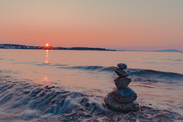Stone Figures at the Coast