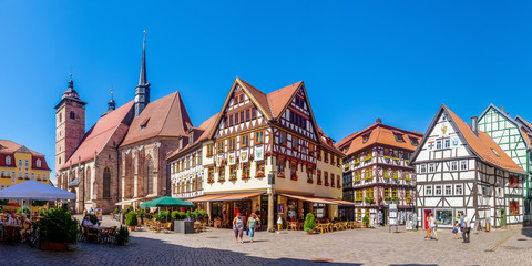 Schmalkalden, Altmarkt und Stadtkirche Wall mural