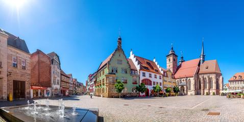 Schmalkalden, Altmarkt und Stadtkirche