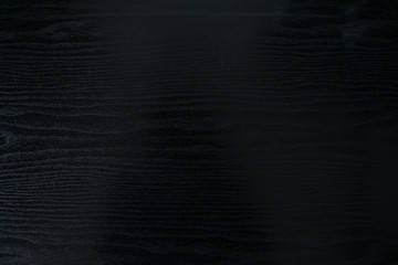 Closeup of Vintage wood background black texture, gloomy wooden table