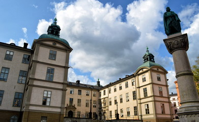 Fotomurales - Stockholm architecture. Sweden capital city