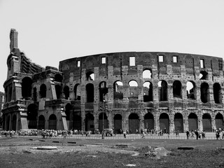 Ancient town, Coliseum Rome.