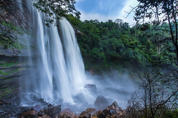 Tad-Loei-nga waterfall. Beautiful waterfall in Loei province, ThaiLand. Wall mural