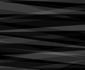 Abstract black and white gradient background with triangles. Technology is Geometric, corporate design background