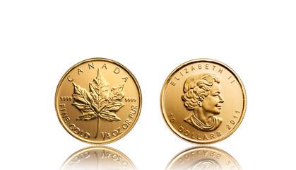 Goldmünze Canadian Maple Leaf 2011