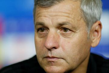 Champions League - Olympique Lyonnais Press Conference