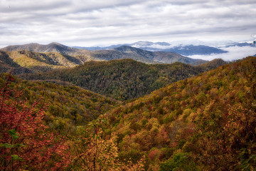 Maggie Valley NC in Fall