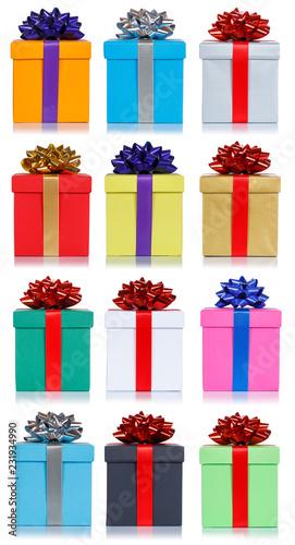 Geschenke Geschenk Geburtstag Weihnachten Hochformat Sammlung