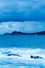 Tempestad en el mar