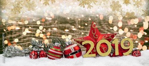 2019 Weihnachten.Frohe Weihnachten Und Guten Rutsch 2019 Stock Photo And Royalty