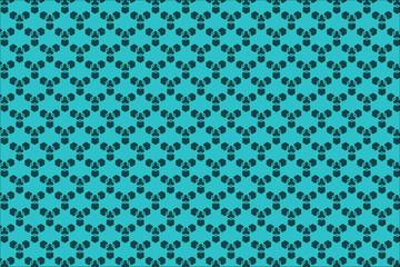 Geometric Pattern Background. Blue Background