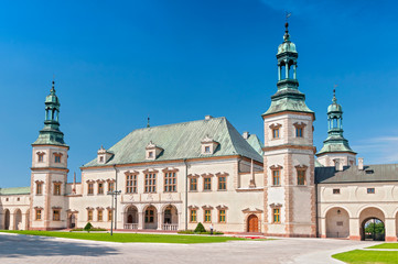 Baroque castle, Bishop s Palace in Kielce, Poland, Europe. Wall mural