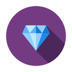 Diamond, jewelry, brilliant icon. crystal, luxury sign for web and mobile app