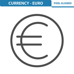 Currency - Euro Icon